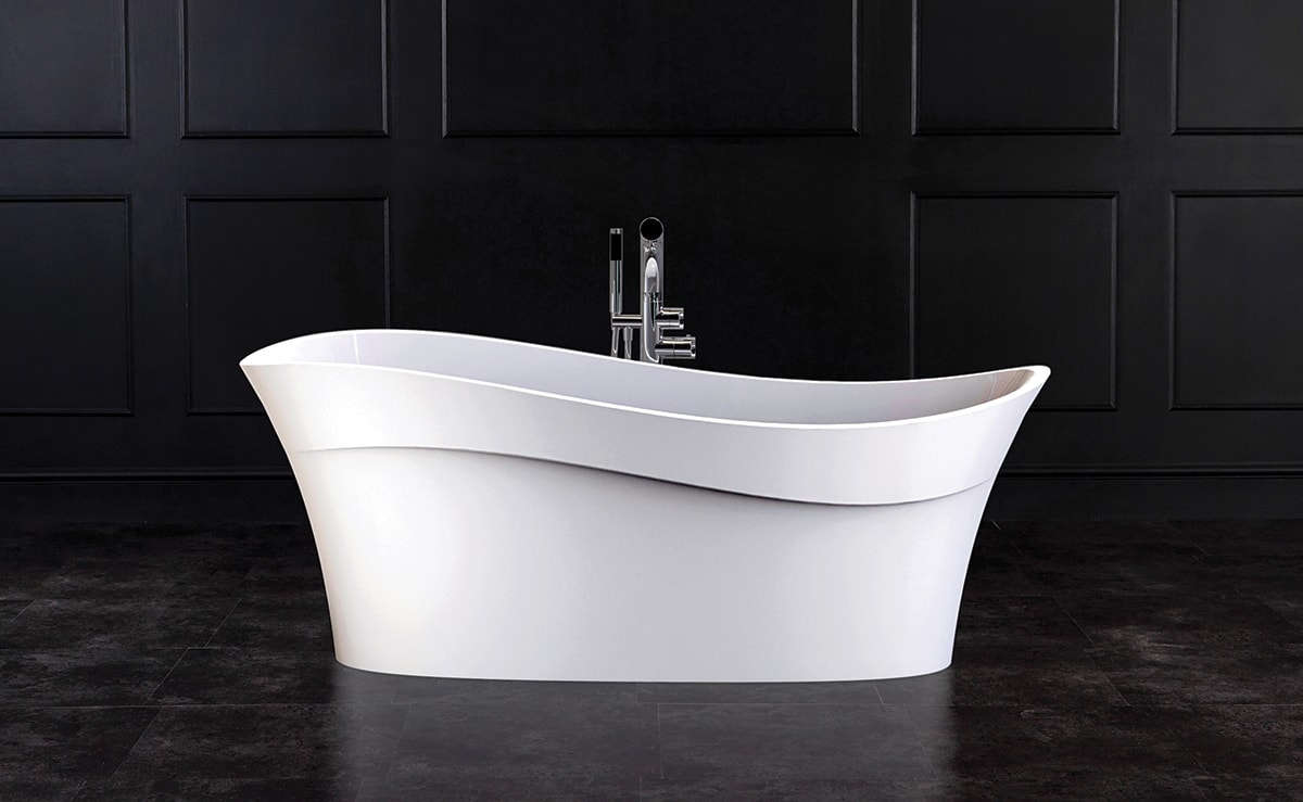 The Pescadero freestanding tub