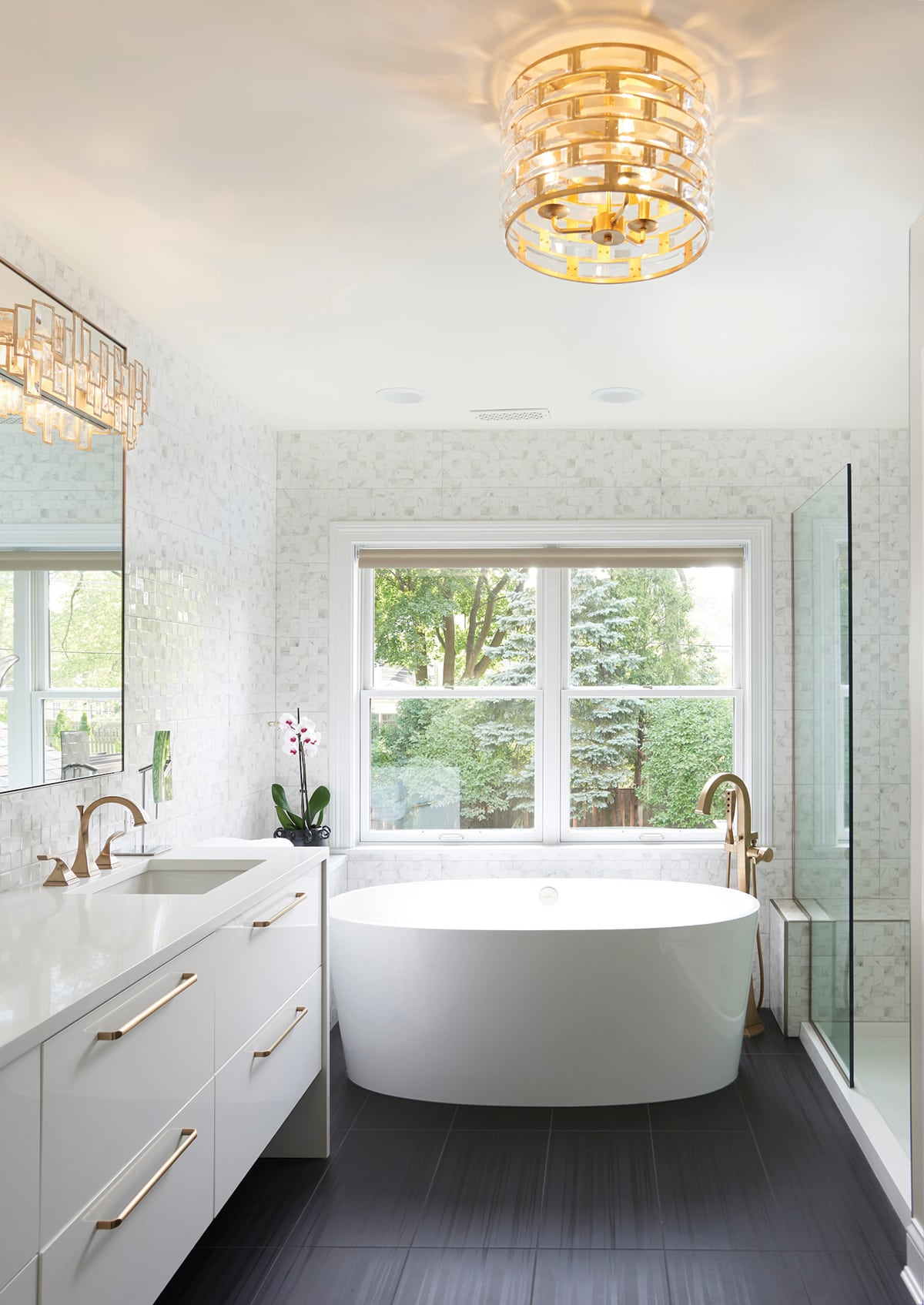 master bath by Hilary Bailes