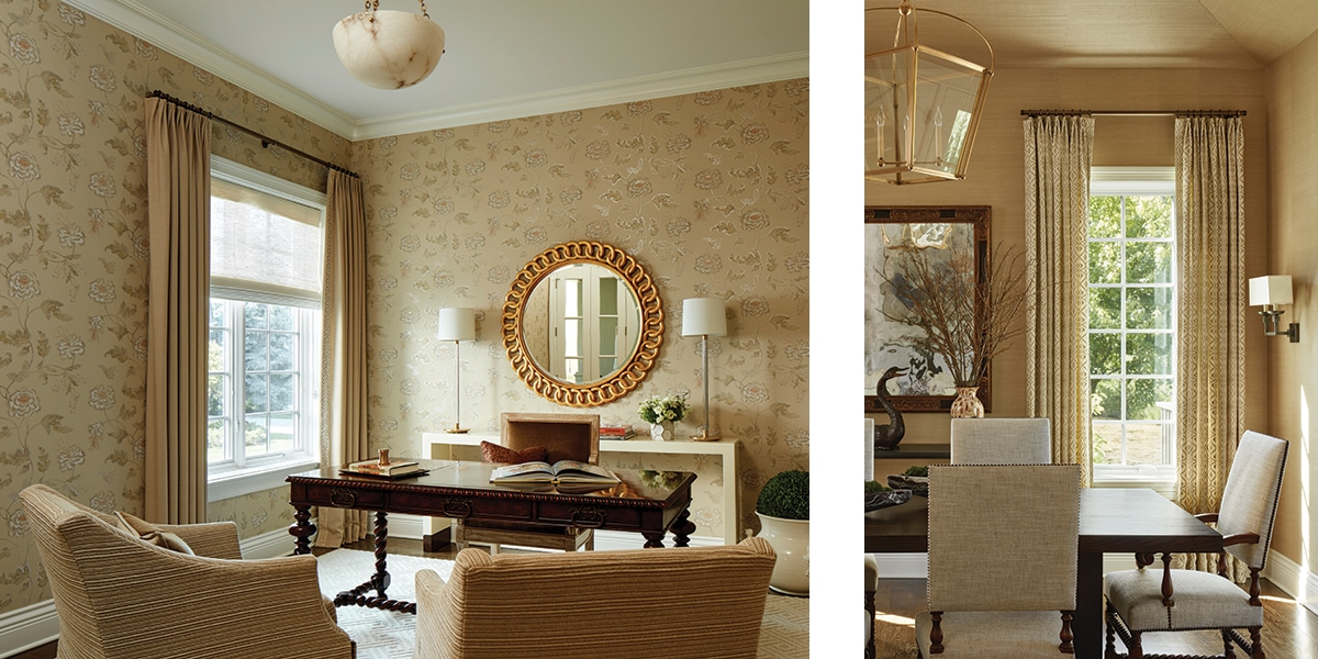 Oak Brook - Drawing and dining rooms
